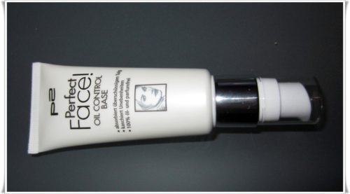 P2 Perfect Face – oil control base