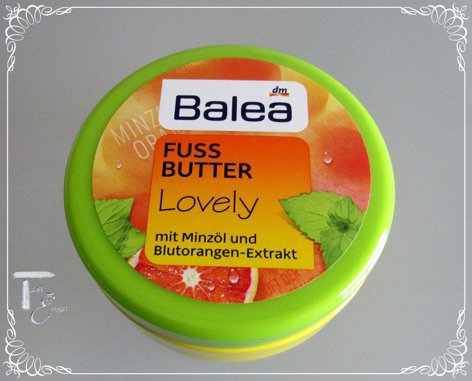 Balea Fussbutter Lovely