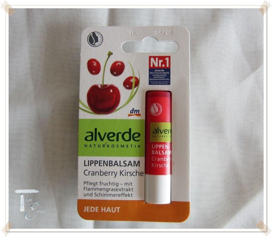 alverde Lippenbalsam – Cranberry Kirsche