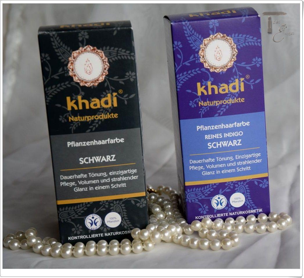 Haare färben mit Naturhaarfarbe von Khadi