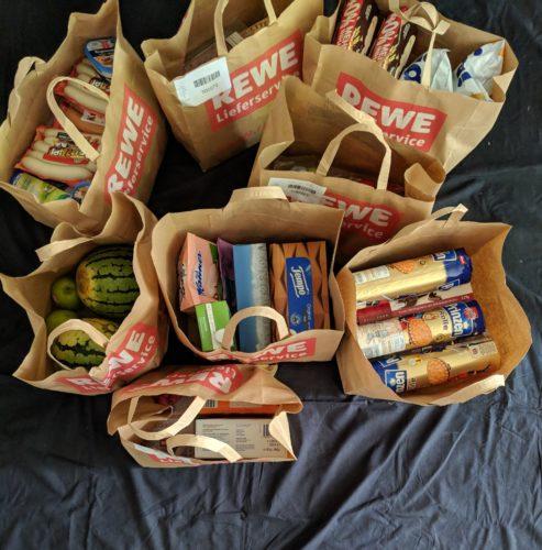 Rewe Lieferservice – Wenn der Wochenendeinkauf zu dir kommt