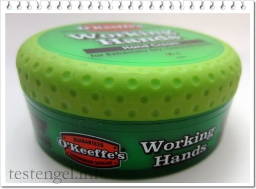 Working Hands – Handcreme