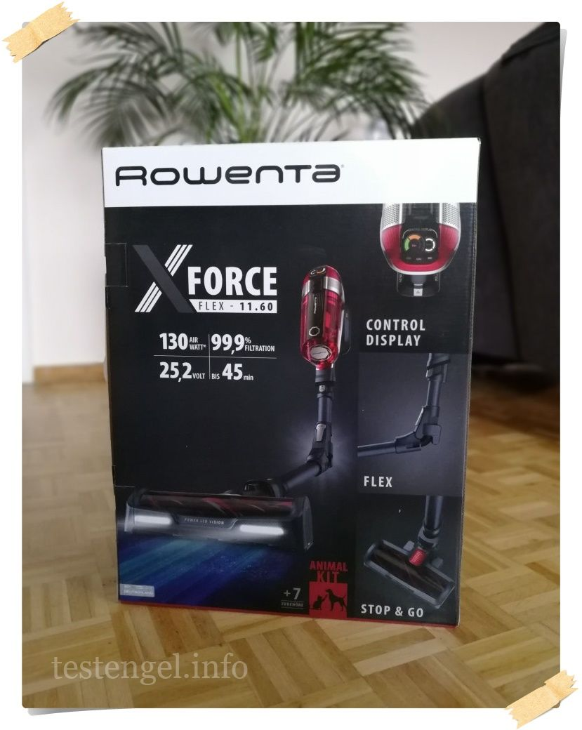 Rowenta X-Force flex 11.60 Animal im Test – Teil 1
